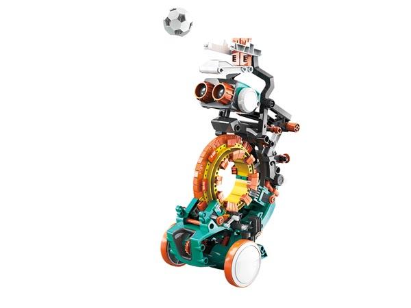 Kodrobot mekanisk, bygg 5 olika med denna byggsats, KSR19