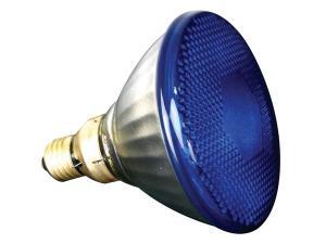 Halogenlampa 80W / 240V Blå