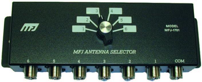 MFJ-1701 coax omk