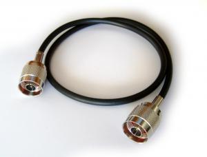 RG-58 kabel med N-Kontakt, 0,5 meter