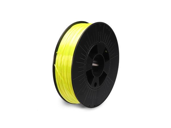 Filament 1,75 PLA satin Flouriserande Gul 750g