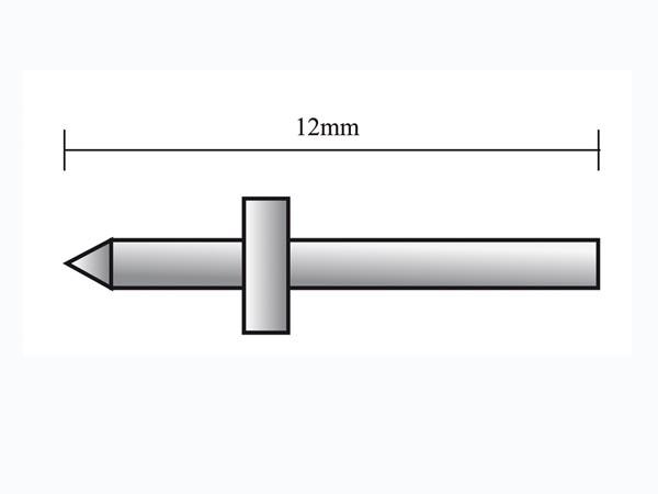 Lödstöd för kretskort Ø1.3mm, 25 Pack