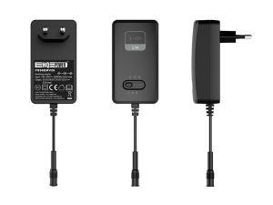 Batterieleminator / Nätaggregat 2,5A 3-12V