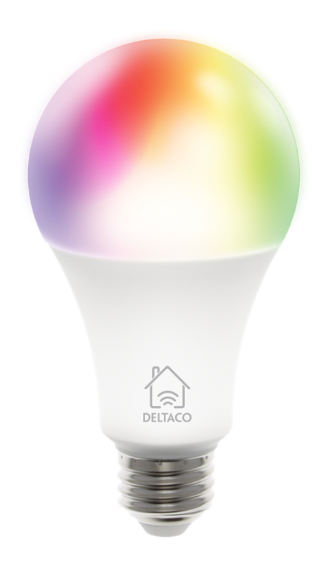 LED lampa RGB E27  Dimmbar WIFI  - Smart home