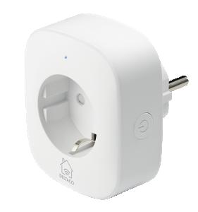 Strömbrytare trådlös WiFi 2,4GHz, energiövervakning