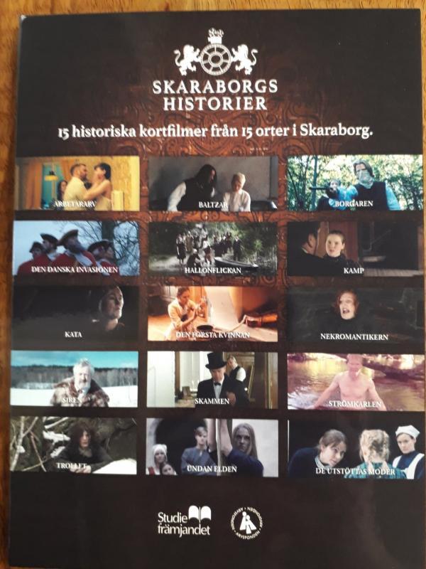 Skaraborgshistorier DVD-fim