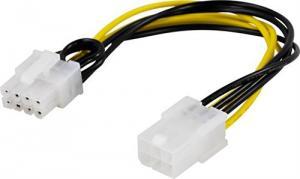 Strömadapter 8-pin PCI-Express till  6-pin PCI-Express