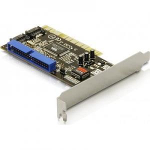 DeLOCK kontrollerkort, PCI, 2xSATA och 1xIDE