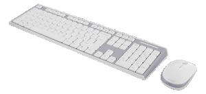 Tangentbord och mus,  USB nano-mottagare. Trådlöst