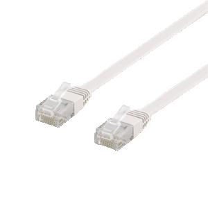 Cat6 platt nätverkskabel. Patch kabel