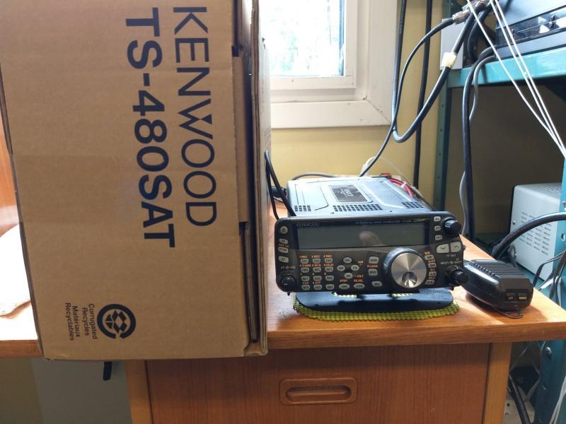 Kenwood TS-480SAT Begagnad med cw-filter