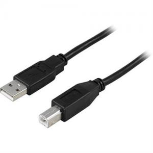 USB kabel, mellan dator och hubb, skrivare, scanner, externa kabinett etc. 5 Meter