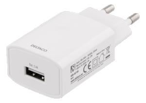 USB laddare, 12W 2,4A