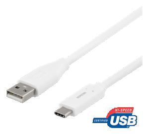 USB C till USB A, 2 Meter 3A  2.0