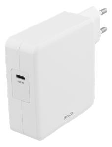 USB-C Nätadapter, snabbladdare 87W PD