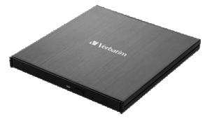 Skrivare CD/DVD USB 3.2 GEN 1 med USB-C anslutning