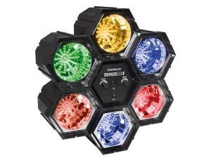 Ljusorgel, flyttbara moduler  6 x 47 LED lysdioder