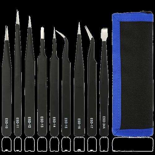Pinsetter 9 st, Elektrostatiska urladdningsverktyg (ESD)