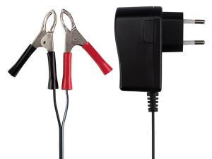 Batteriladdare, 6 - 12 VDC för blybatteri