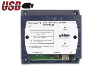 DMX styrning med USB, VM116