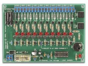 Ljuseffektgenerator med 10 kanaler, VM120