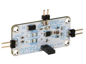 Ljudförstärkare, liten kraftfull förstärkare , MM209