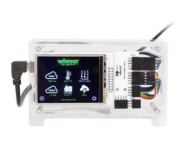 Sensorenhet som läser olika miljövärden. VM211SE