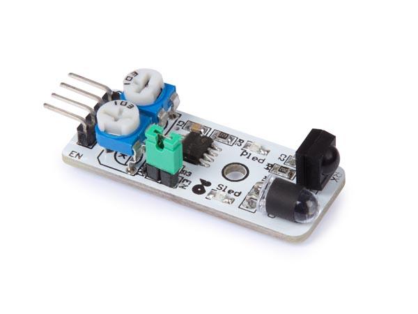 Avståndssensor, reflekterande  3,3V / 5V - 40cm