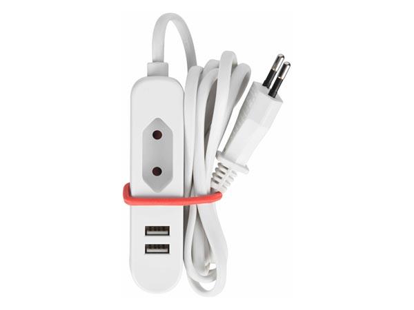 Grenuttag 1 euro till en euro med 2 USB