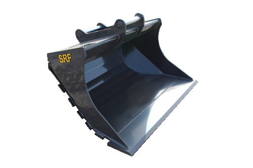 SRF Planeringsskopa S45 - 1400 mm - 400 L (slitribbor)