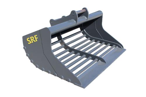 SRF Gallerskopa 1500 mm - 500 L - S45