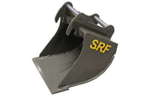 SRF Grävskopa S30/180 - 420 mm - 35 L - Skärstål