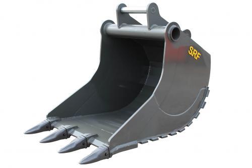 SRF Grävskopa S70 - 1150 mm - 1050 L - Tand
