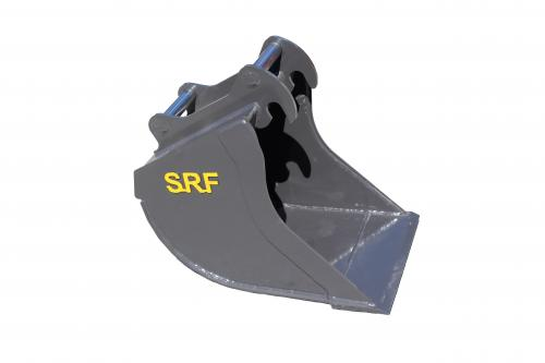SRF Grävskopa S40 - 500 MM - 100 L - Skärstål