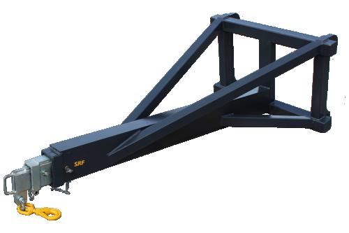 Kranarm Stora BM Mek - 2,8/1,3 ton - 3-delad
