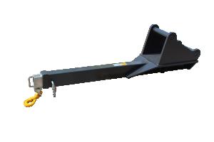 Kranarm S40 - utskjutbar - 1,3 ton