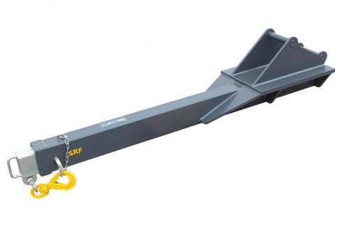 Kranarm S40 - utskjutbar - 3,5 meter