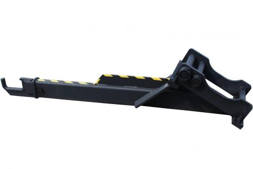 Kranarm för sprängmatta S60/S70