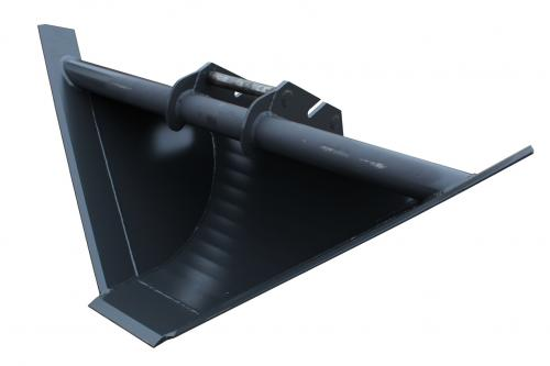 Profilskopa 1600/300 - 300 Liter - Hydrema 45