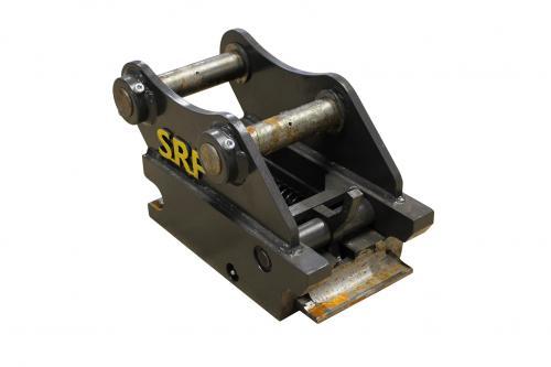 Snabbfäste S40 Halvautomatisk låsning - Axel: 40mm CC: 200mm  Bredd: 140mm