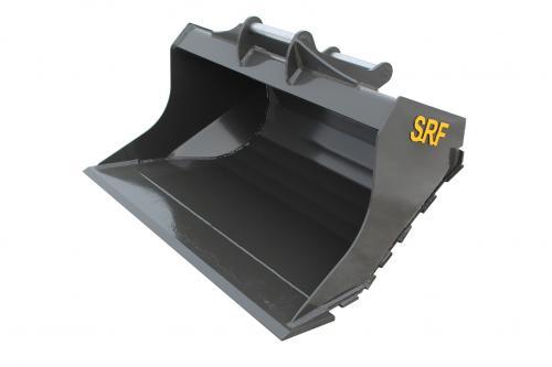SRF Planeringsskopa S45 - 1500 mm - 450 L (slitribbor)