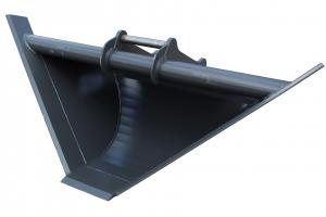 Profilskopa 1600/300 - 300 Liter - S45