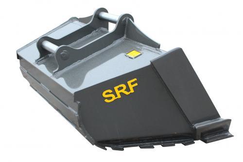 SRF Dikes planeringsskopa S60 - 1600 MM 650 L