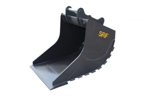 SRF Grävskopa S60 - 830 mm - 600 L - Skärstål