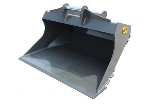 SRF Planeringsskopa S60 - 1600 mm - 650 L