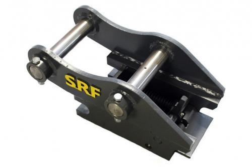 Snabbfäste S40 Halvautomatisk låsning - Axel: 45mm CC: 220mm  Bredd: 160mm