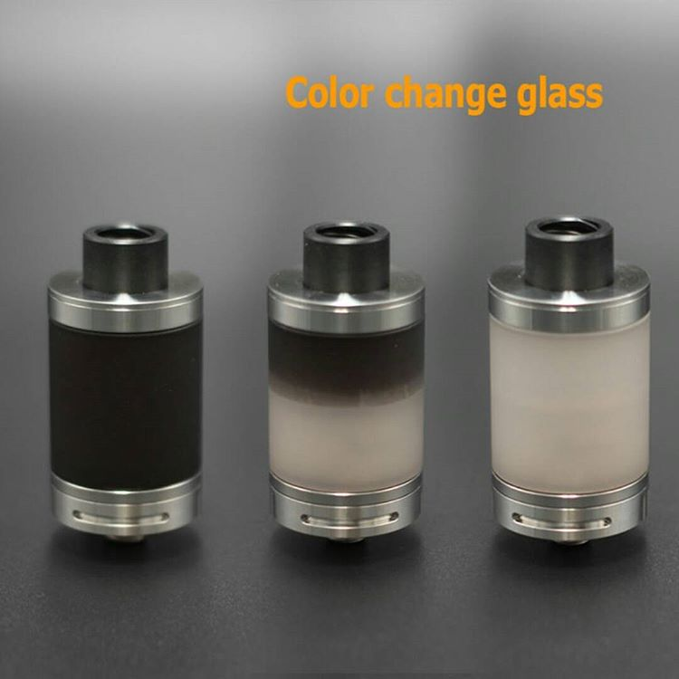 Color Change Glass Tube