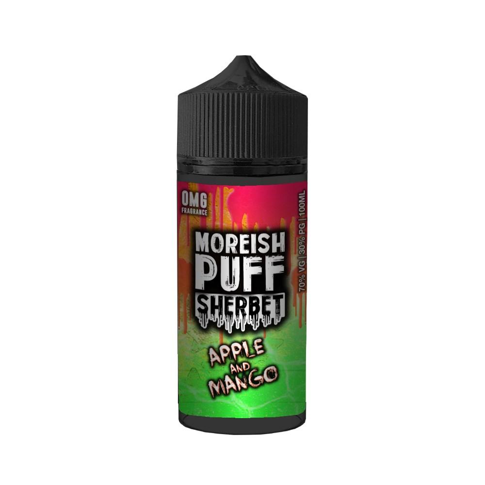 Moreish Puff Sherbet - Apple and mango 100ml