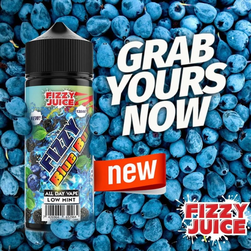 Fizzy Juice Blue Burst 0mg 100ml