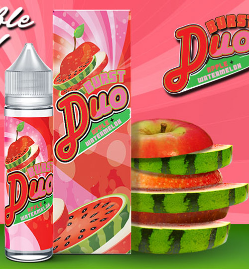 Burst Duo Apple and Watermelon 50ML